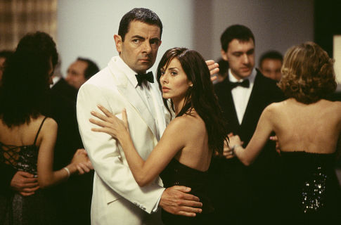 Rowan Atkinson and Natalie Imbruglia in Johnny English (2003)