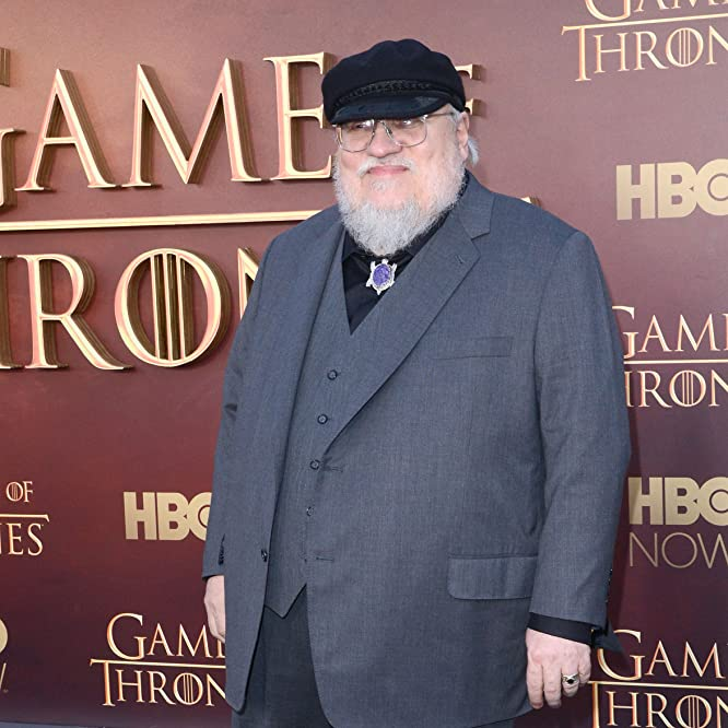 George R.R. Martin at an event for Game of Thrones (2011)