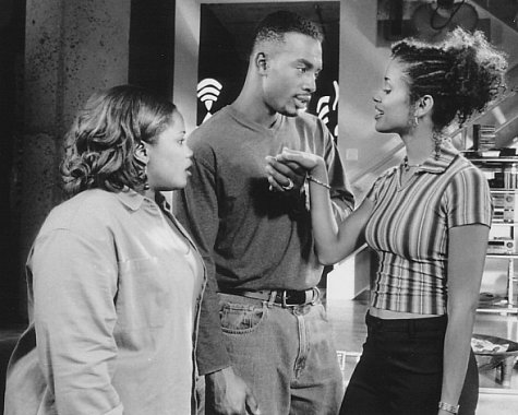 Bill Bellamy, Mari Morrow, and Natalie Desselle Reid in How to Be a Player (1997)