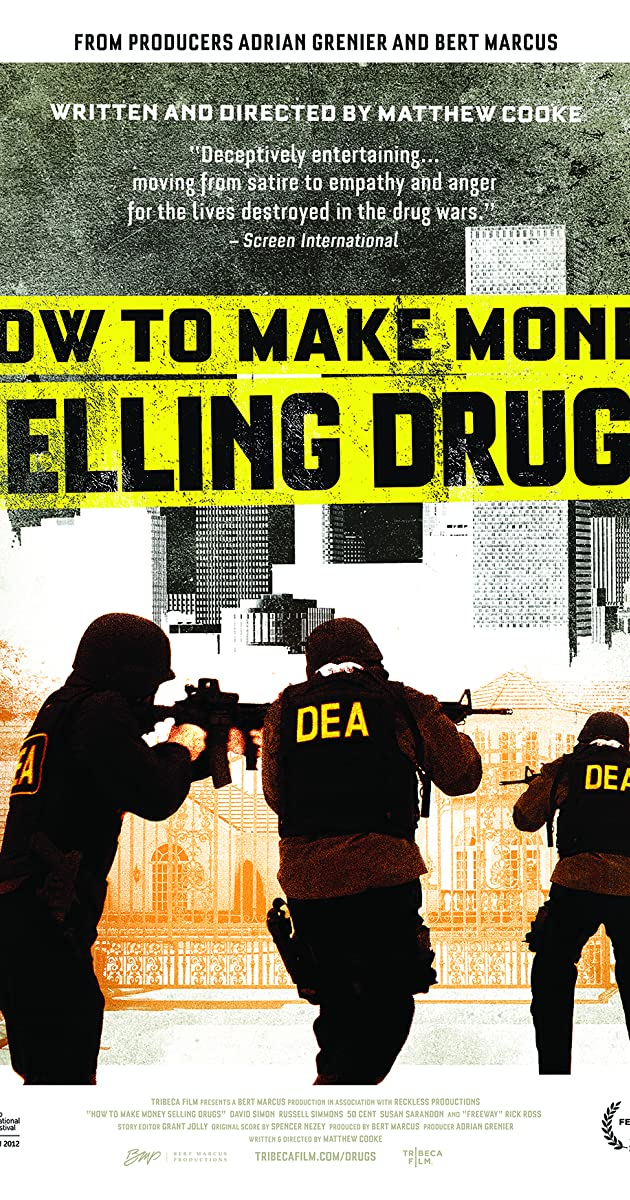 Subtitle of How to Make Money Selling Drugs