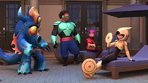 """A story about the bond that develops between Baymax, a plus-sized inflatable robot, and prodigy Hiro Hamada. When a devastating event befalls the city of San Fransokyo and catapults Hiro into the midst of danger, he turns to Baymax and his close friends adrenaline junkie Go Go Tomago, neatnik Wasabi, chemistry whiz Honey Lemon and fanboy Fred. Determined to uncover the mystery, Hiro transforms his friends into a band of high-tech heroes called """"Big Hero 6."""""""