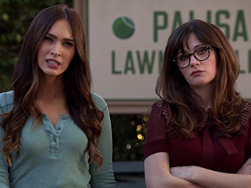 Zooey Deschanel and Megan Fox in New Girl (2011)
