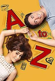 Ben Feldman and Cristin Milioti in A to Z (2014)