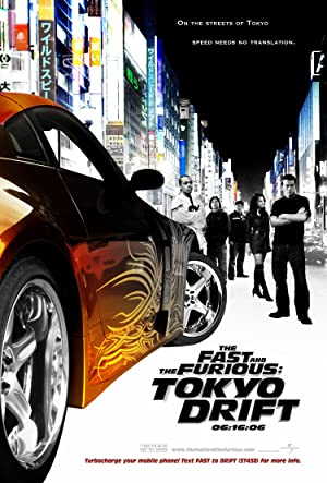 The Fast and the Furious: Tokyo Drift Poster Image