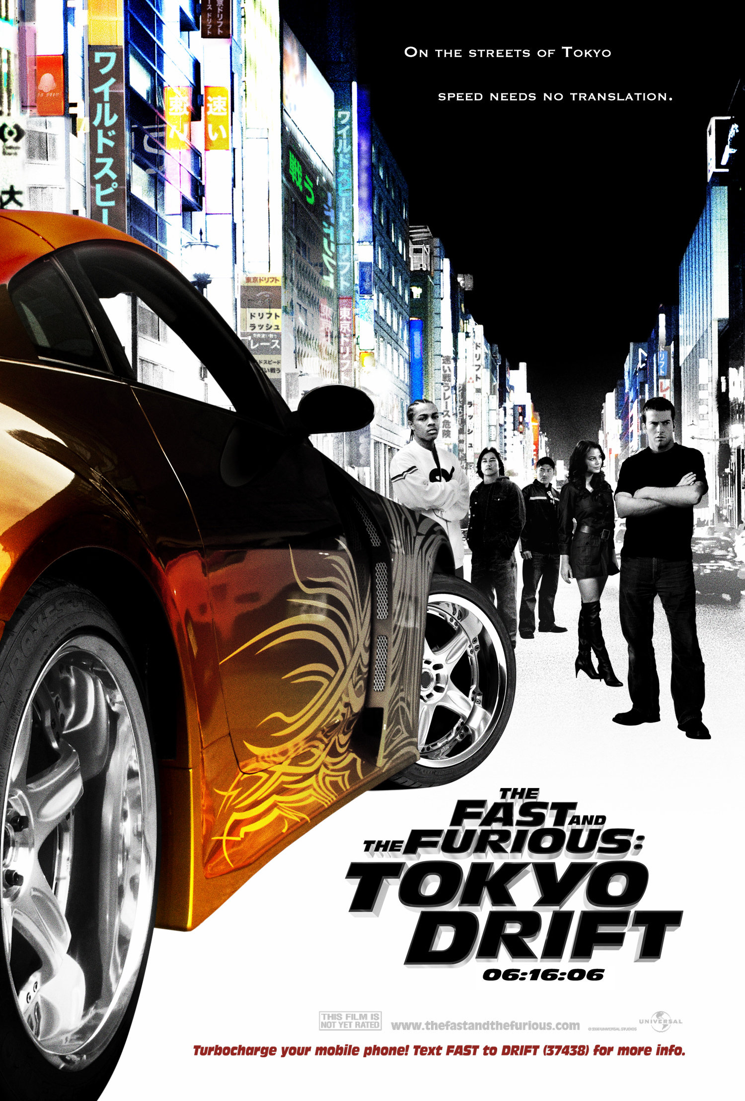 The Fast and the Furious: Tokyo Drift (2006) BluRay 480p, 720p & 1080p
