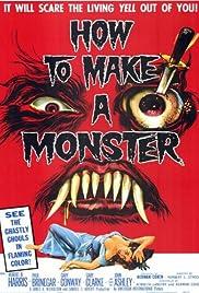 How to Make a Monster(1958) Poster - Movie Forum, Cast, Reviews