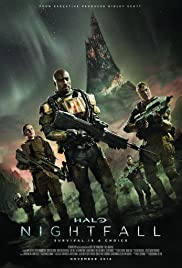 Halo: Nightfall Poster