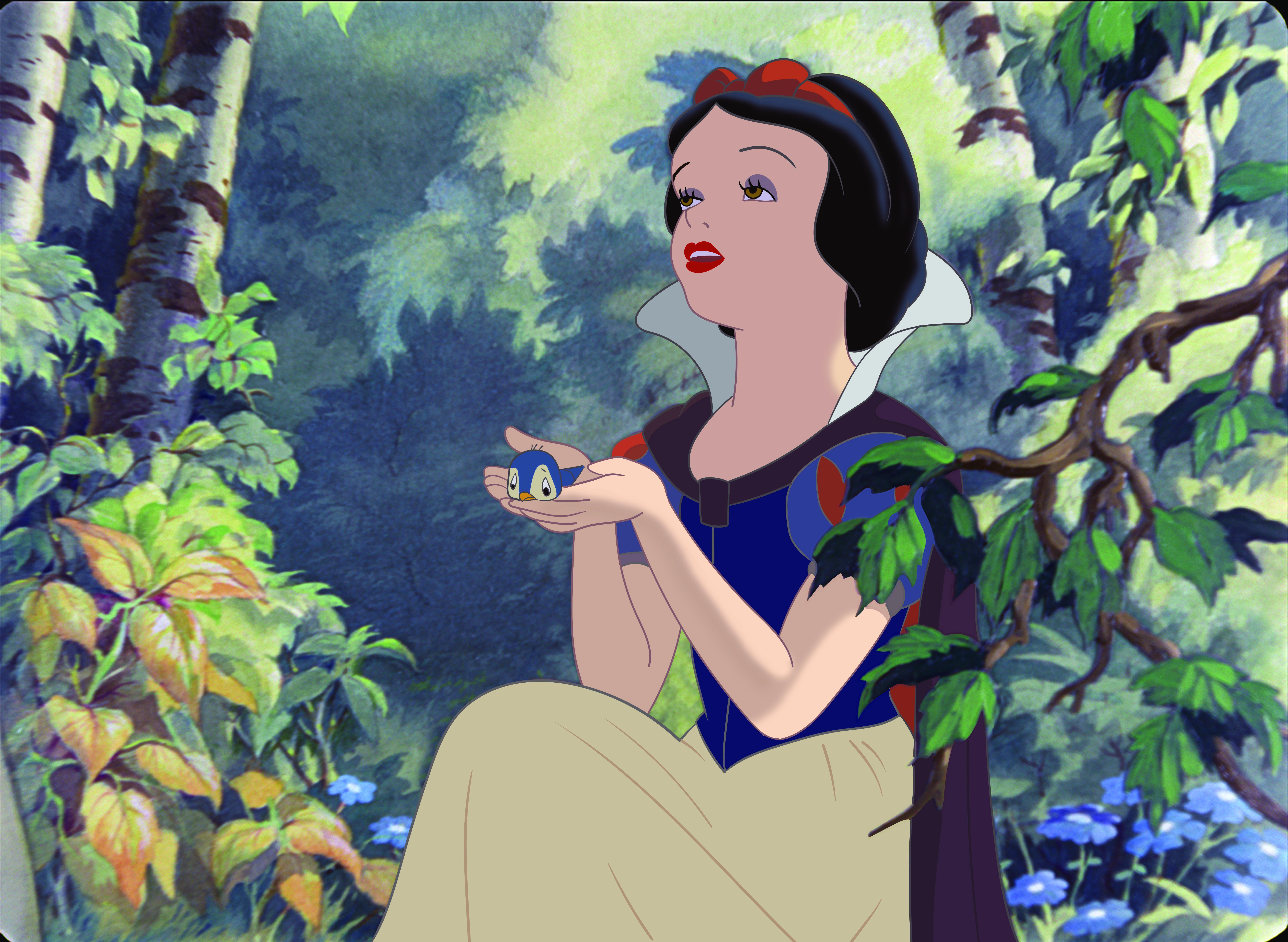 Adriana Caselotti and Purv Pullen in Snow White and the Seven Dwarfs (1937)