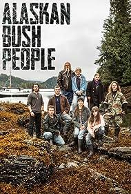Noah Brown, Matt Brown, Snowbird Brown, Gabe Brown, and Bill Brown in Alaskan Bush People (2014)