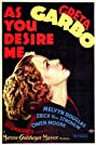 As You Desire Me (1932) Poster