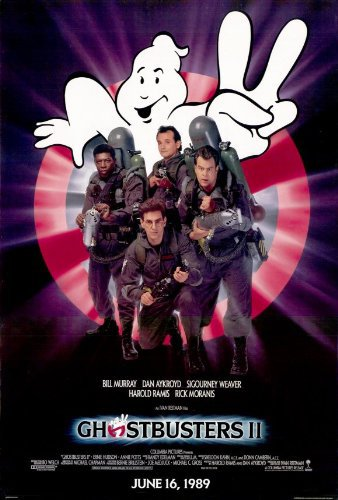 Ghostbusters II 1989 Movie BluRay Dual Audio Hindi Eng 300mb 480p 900mb 720p