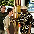 Bernie Mac, Kevin Dunn, and Shia LaBeouf in Transformers (2007)