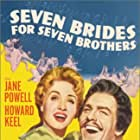 Jane Powell and Howard Keel in Seven Brides for Seven Brothers (1954)