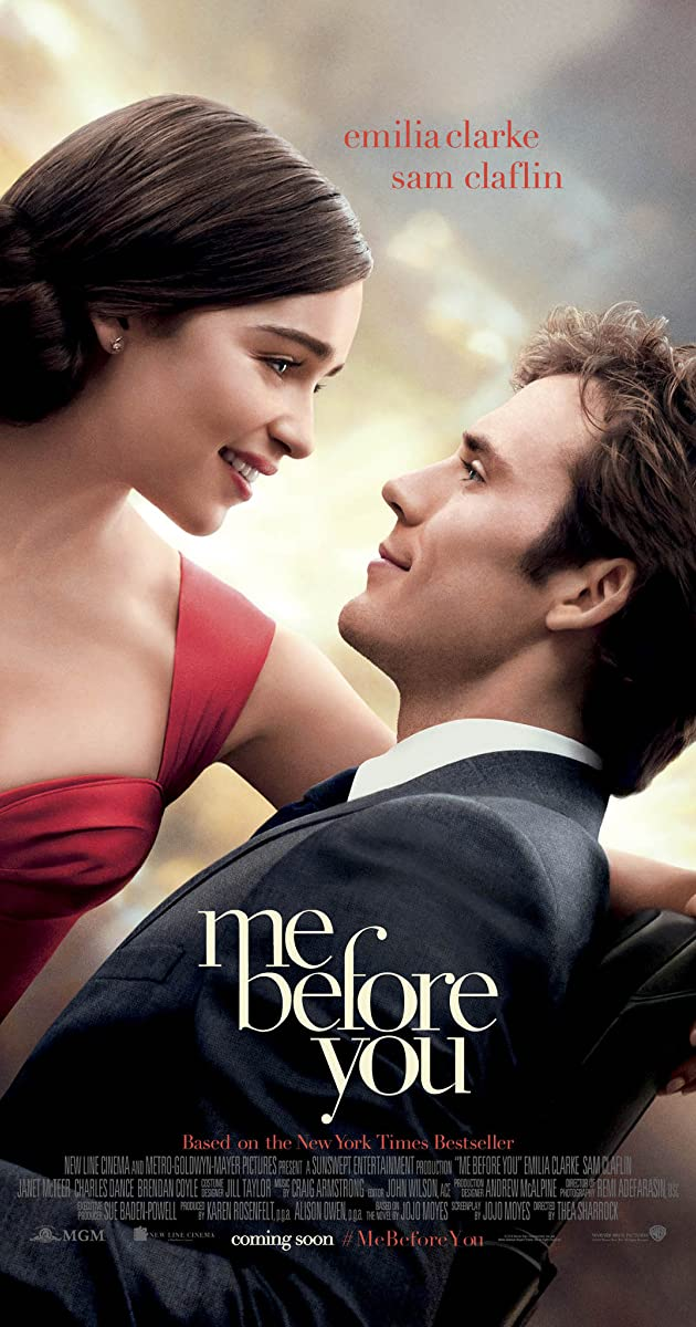 Me Before You 60 IMDb Cool Me Before You Quotes