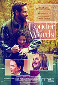 David Duchovny, Timothy Hutton, Hope Davis, and Olivia Steele Falconer in Louder Than Words (2013)