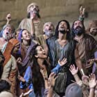 Cote de Pablo and Mido Hamada in The Dovekeepers (2015)