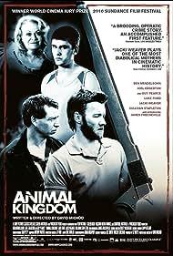Joel Edgerton, Ben Mendelsohn, Jacki Weaver, and James Frecheville in Animal Kingdom (2010)