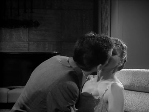 Barbara Cook and Vic Morrow in Alfred Hitchcock Presents (1955)