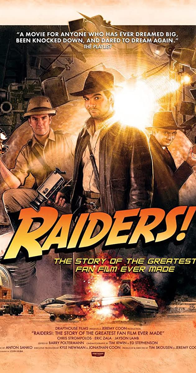 Subtitle of Raiders!: The Story of the Greatest Fan Film Ever Made