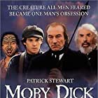 Gregory Peck, Patrick Stewart, Henry Thomas, and Piripi Waretini in Moby Dick (1998)