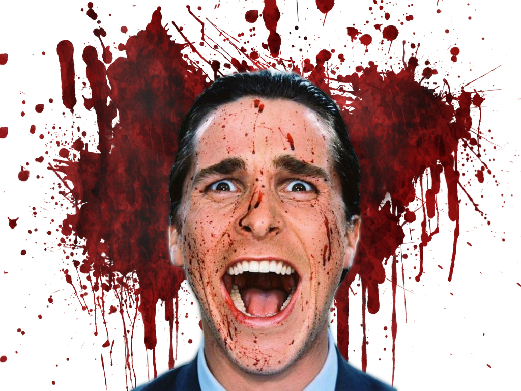 Christian Bale in American Psycho (2000)