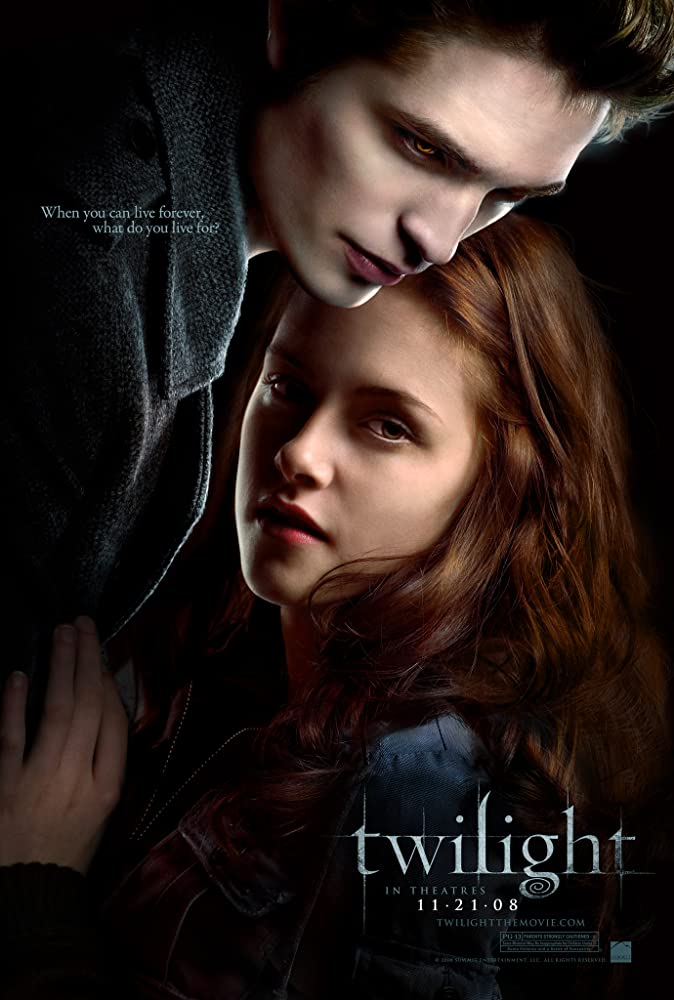 Twilight 2008 Hindi ORG Dual Audio 400MB BluRay ESubs Download