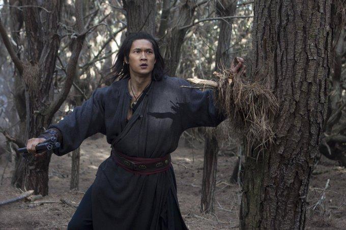 Harry Shum Jr. in Crouching Tiger, Hidden Dragon: Sword of Destiny (2016)