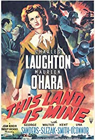 Maureen O'Hara in This Land Is Mine (1943)