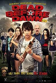 Christopher Lloyd, Martha MacIsaac, April Mullen, Devon Bostick, Melissa Jane Shaw, Dru Viergever, and Tim Doiron in Dead Before Dawn 3D (2012)