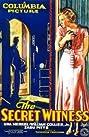 The Secret Witness (1931) Poster