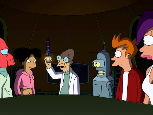 Katey Sagal, John DiMaggio, and Billy West in Futurama (1999)