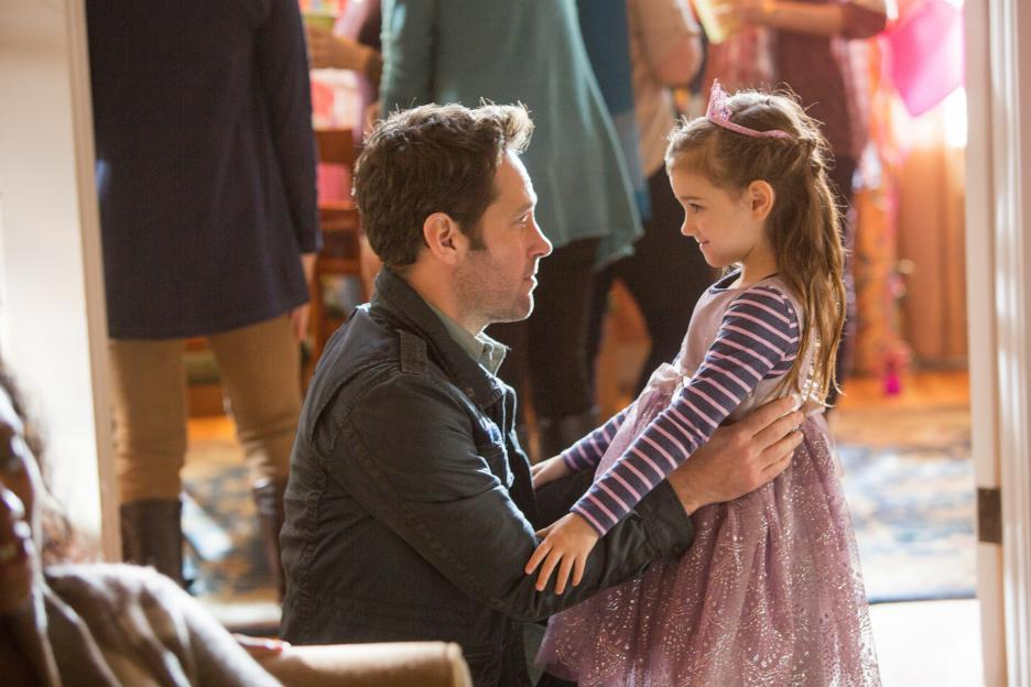 Paul Rudd and Abby Ryder Fortson in Ant-Man (2015)