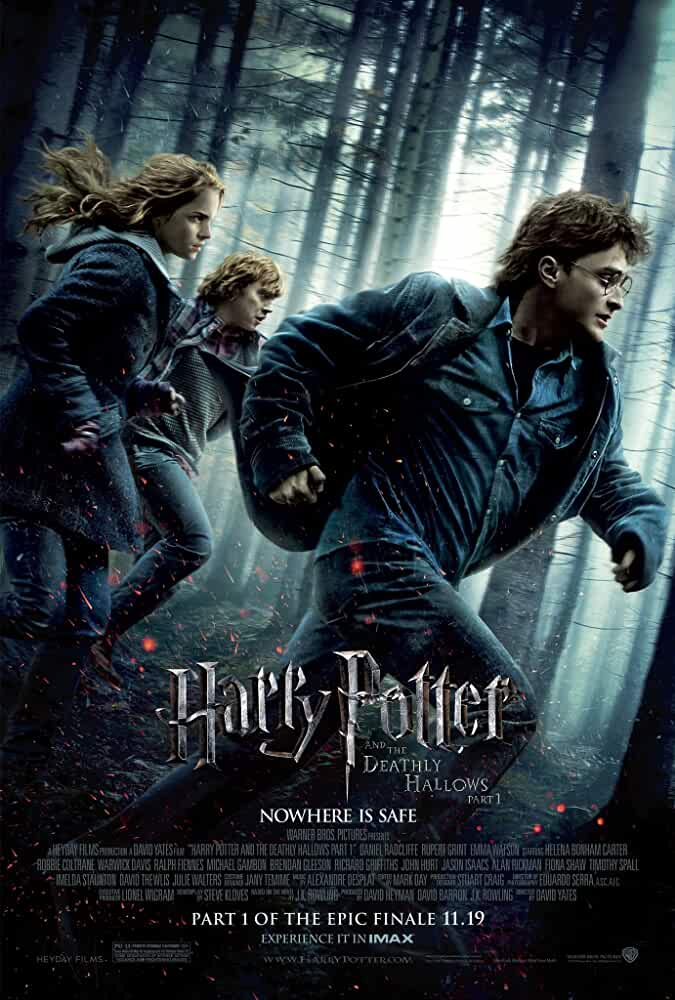 Download Harry Potter and the Deathly Hallows: Part 1 (2010) Full Movie In Hindi-English (Dual Audio) Bluray 480p [300MB] | 720p [1GB] | 1080p [2.3GB]
