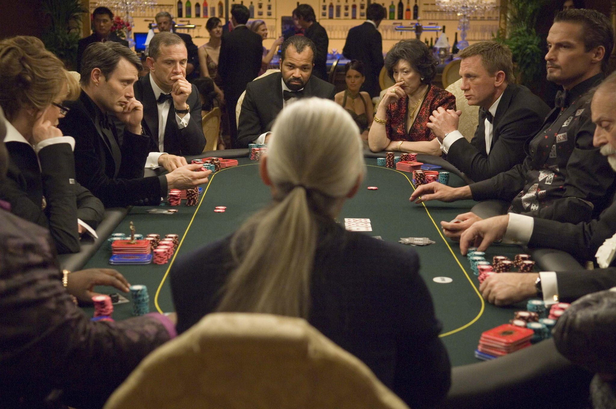 Casino royale - poker scene 2 listen to the crap