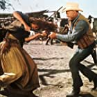 Yul Brynner and Daliah Lavi in Catlow (1971)