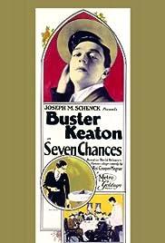 Seven Chances Poster