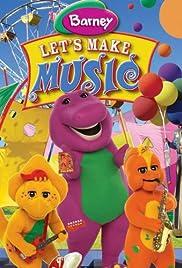 Barney: Let's Make Music Poster