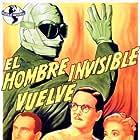 Nan Grey, Cedric Hardwicke, and Alan Napier in The Invisible Man Returns (1940)
