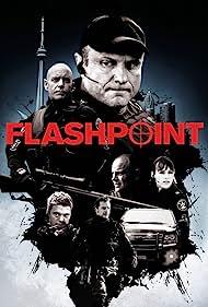 Amy Jo Johnson, Enrico Colantoni, Michael Cram, Sergio Di Zio, Hugh Dillon, and David Paetkau in Flashpoint (2008)