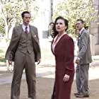 James D'Arcy, Chad Michael Murray, and Hayley Atwell in Agent Carter (2015)