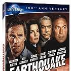 Charlton Heston, Geneviève Bujold, Lorne Greene, and George Kennedy in Earthquake (1974)