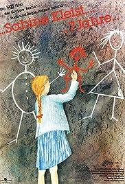 Sabine Kleist, 7 Jahre... Poster