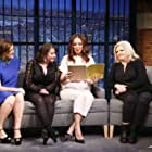 Rachel Dratch, Amy Poehler, Maya Rudolph, and Paula Pell at an event for Sisters (2015)