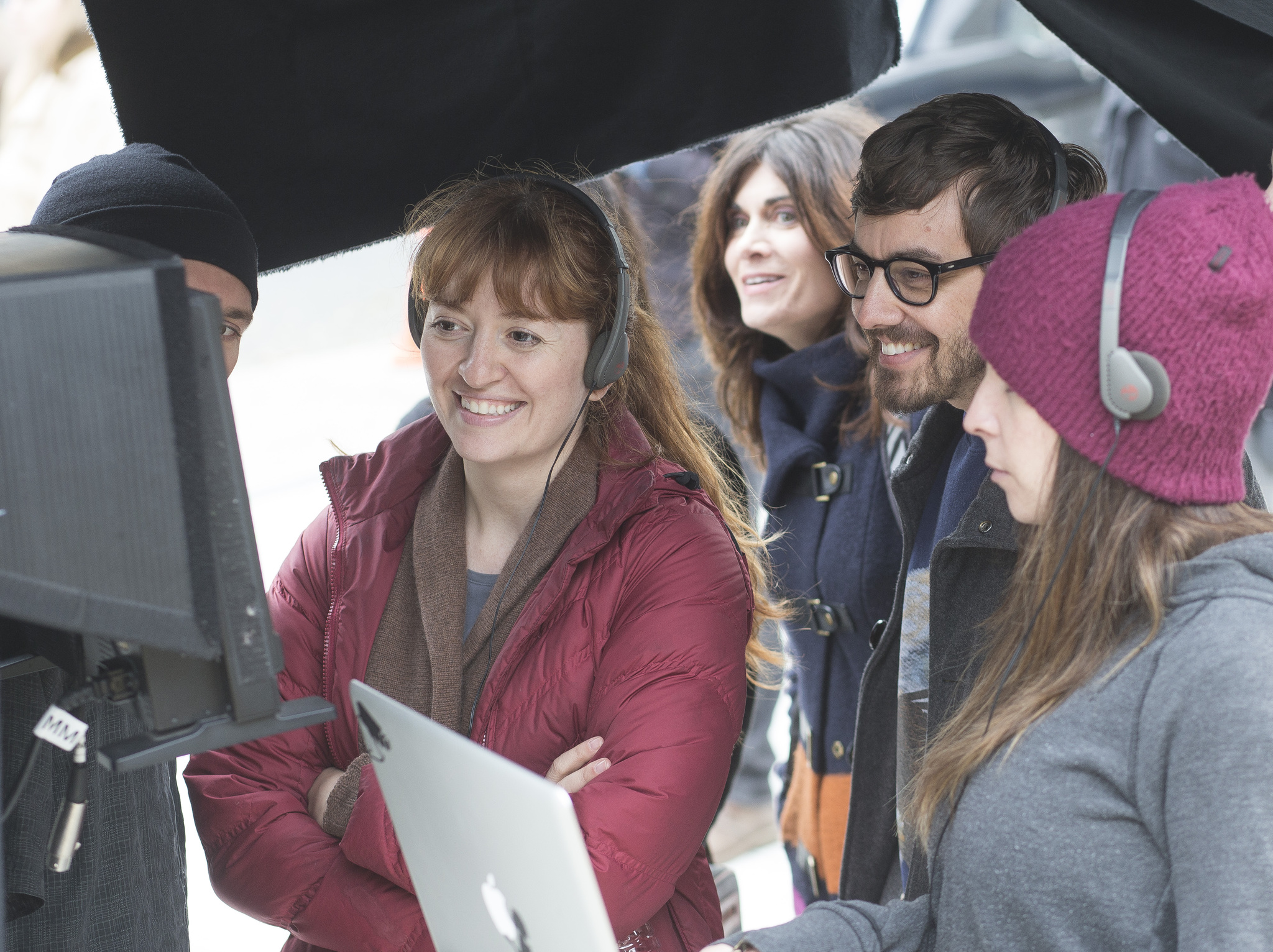 Jorma Taccone, Marielle Heller, and Phoebe Gloeckner in The Diary of a Teenage Girl (2015)