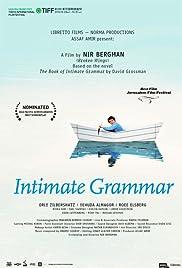 Intimate Grammar Poster