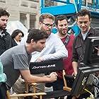 Joseph Gordon-Levitt, Seth Rogen, and Jonathan Levine in The Night Before (2015)