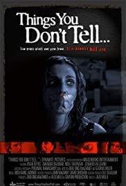 Things You Don't Tell... Poster