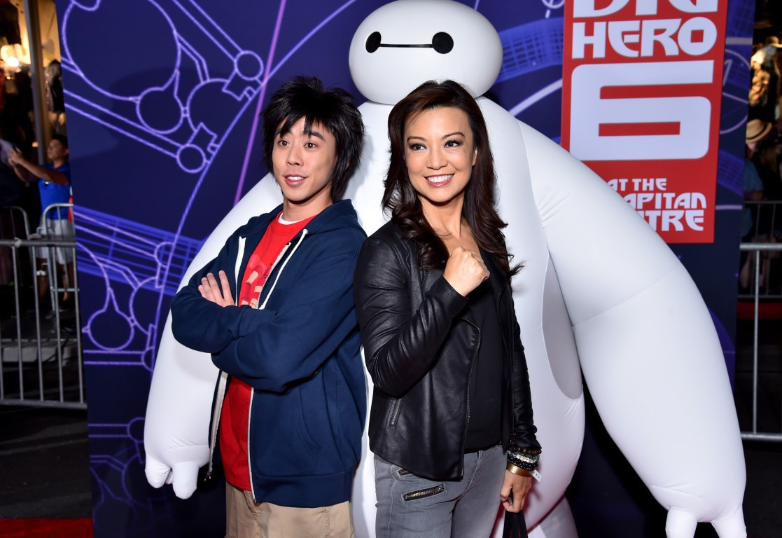 Ming-Na Wen at an event for Big Hero 6 (2014)