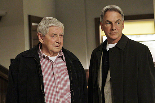 Mark Harmon and Ralph Waite in NCIS Naval Criminal Investigative Service 2003