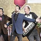 Vik Sahay, Scott Krinsky, and Joshua Gomez in Chuck (2007)